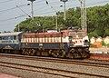 Vijayawada bound Passenger with WAG 7 loco enters Pithapuram 02.JPG