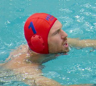 Viktor Nagy Hungarian water polo goalkeeper