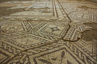 History of Bulgaria - Roman mosaics in Villa Armira near Ivaylovgrad.