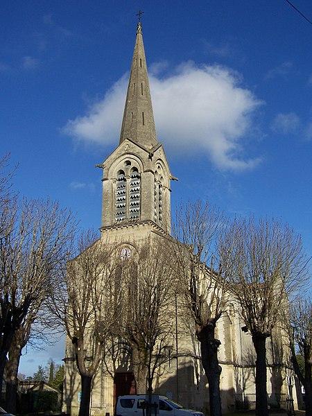 Church of Villandraut (Gironde, France)