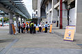 Visitors Checking Point of 2015 Hsinchu Air Force Base Open Day in THSR Hsinchu Station 20151121.jpg