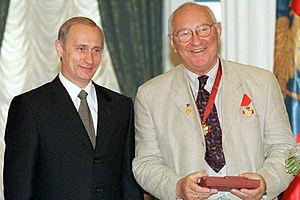 Pavel Lebeshev - Image: Vladimir Putin 12 June 2000 2