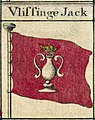 Vlissingen flag - Bowles's naval flags of the world, 1783.jpg