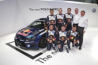 Volkswagen Motorsport auto racing factory team by Volkswagen