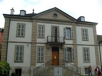 Les Délices - Voltaire Institute and Museum, Les Délices