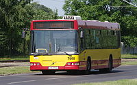 Volvo 7000 in service for MPK Wrocław (Poland, June 2012).jpg