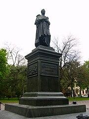 Vorontsov monument in Odessa.JPG