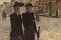 Vrouwen op het Rokin, Amsterdam, George Hendrik Breitner, (1895-1896), Koninklijk Museum voor Schone Kunsten Antwerpen, 2020.jpg