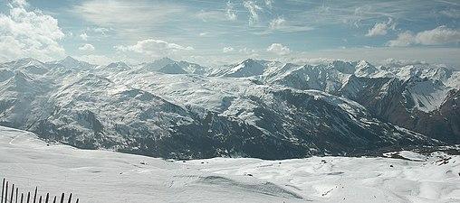 Vue depuis Col 3 Marches sur Vanoise Sud - panoramio.jpg