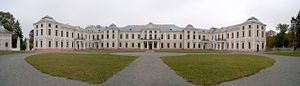 Vyshnivets Palace - Main building of Vyshnivets Palace