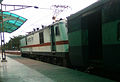 WAP7 series loco at Necklace road Station.jpg