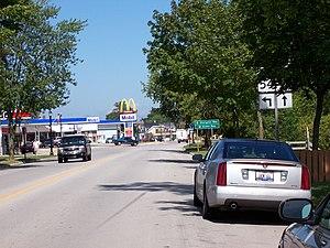 Algoma, Wisconsin - Image: WIS54East Terminus