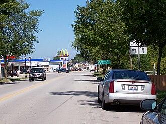 Wisconsin Highway 54 - Image: WIS54East Terminus