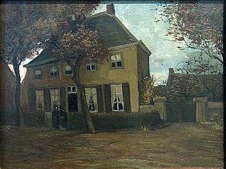 Nuenen - Image: WLANL artanonymous De pastorie te Nuenen