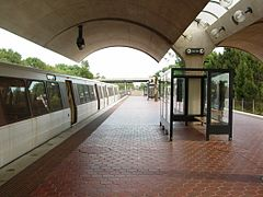 WMATA Shady Grove station