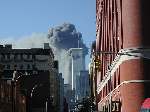 WTC 2nd plane hit - Greenwich Street