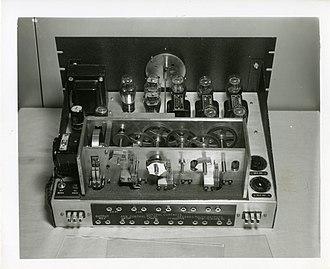 WWV (radio station) - WWV seconds pulse generator, 1943