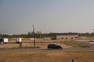 Wadena County, Minnesota - The grandstands at the Wadena County Fairgrounds