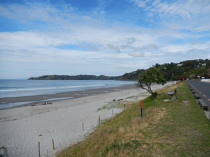 How to get to Onetangi with public transport- About the place
