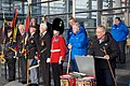 Walk on Wales- £1million charity walk in aid of Welsh soldiers sets off from the Senedd-Walk on Wales- Taith gerdded elusennol gwerth £1 miliwn yn cychwyn o'r Senedd (10687405796).jpg