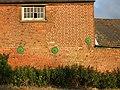 Wall detail, Sharnal Street, Kent - geograph.org.uk - 1354990.jpg