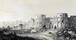 Walled enclosure Zengan by Eugène Flandin.jpg