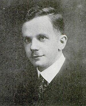 Walter Francis White - Walter F. White, 1918