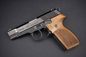 Walther P88 with Nill wood grips (32415095370).jpg