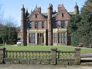 Walton, Cheshire - Image: Walton Hall, Cheshire