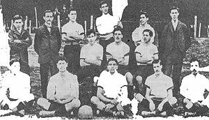 Santiago Wanderers - Wanderers in 1901.