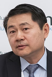Wang Huiyao Chinese Social Entrepreneurs, think tank founder, leading authority on global talent