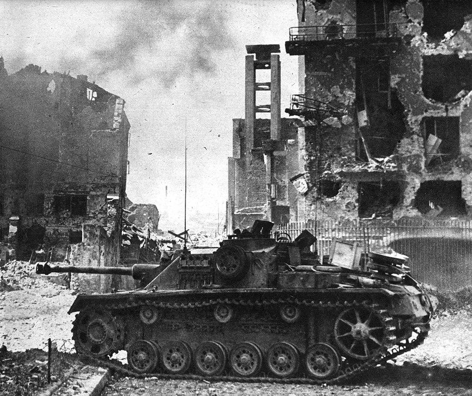 WarsawUprising - StuG III Ausf. G