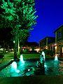 Wasserspiele an einem Sommerabend im Bad Mergentheim Kurpark. 04.jpg