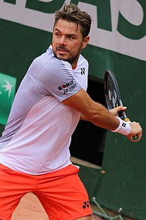 Stan Wawrinka Swiss tennis player