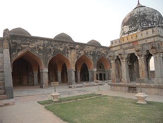 Tughlaq dynasty - Wazirabad mosque, near Delhi, was built during Firoz Shah Tughlaq reign.