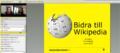 Webinar introducing Wikipedia editing to students at Linnéuniversitetet.png