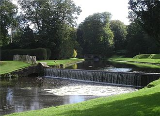 River Skell - The River Skell in Studley Royal Park