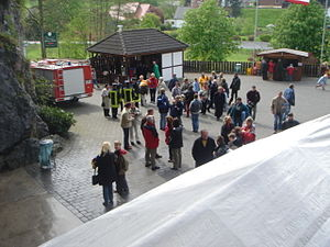 Festspiele Balver Höhle - Balver Höhle in May 2005
