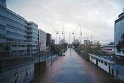 Wembley Stadium under construction