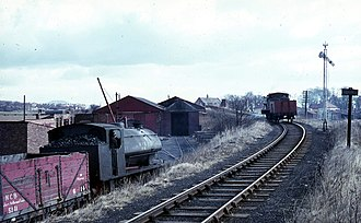 Private transport - A coal train on the Wemyss Private Railway