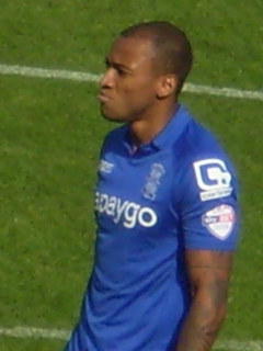 Wes Thomas British footballer