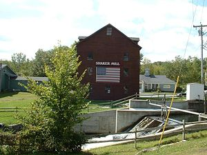 West Stockbridge, Massachusetts - Shaker Mill, located along the Williams River