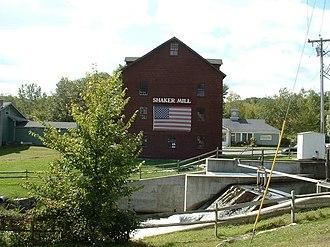 West Stockbridge, Massachusetts - Shaker Mill, located along the Williams River