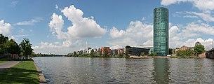 Westhafen, Frankfurt, Southeast view 20170514 3.jpg