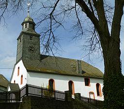 Church of Weyer (Rhein-Lahn-Kreis), Rhineland-Palatinate, Germany.