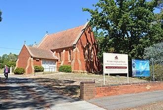 White Hills, Victoria - Image: White Hills Anglican Church 001