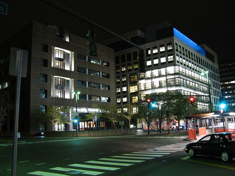 File:Whitehead Institute at night - from Flickr 3504665133.jpg