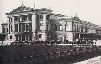 Southern Railway (Austria) - Wien Südbahnhof, built in 1875