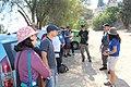 Wiki Loves Monuments 2014 in Israel Tour of Tel Yokneam IMG 2075.JPG