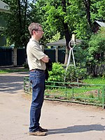 Wiki Party in Moscow 2013-05-18 (City tour; Krassotkin; 17).JPG